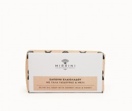 mirrini-natural soap-donkey milk-olive oil-honey